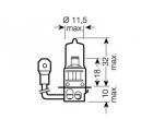 H3 (64151)*  Лампочка H3 12V 55W OSRAM (Германия)
