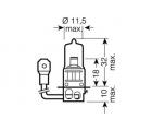 H3 (64156)* Лампочка H3 24V 70W OSRAM (Германия)
