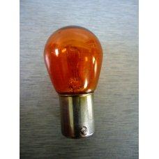 PY21W 61218-Or *  Лампочка желтая одноконтактная12V 21W  МАЯК (Китай) смещен. цоколь