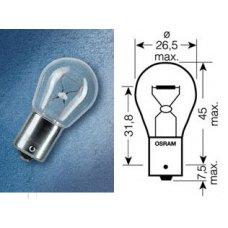 P21W (7506)* Лампочка белая одноконтактная 12V 21W OSRAM (Германия)
