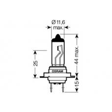 H7 (64210)* Лампочка H7 12V 55W OSRAM (Германия)