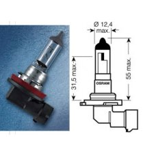 HB4 (9006)* Лампочка HB4 12V 51W OSRAM (Гемания)
